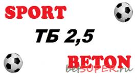 Программа для ставок на футбол SportBeton