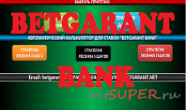 Программа Betgarant Bank 2017