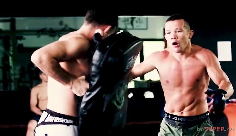 Подготовка к бою за чемпионский пояс UFC
